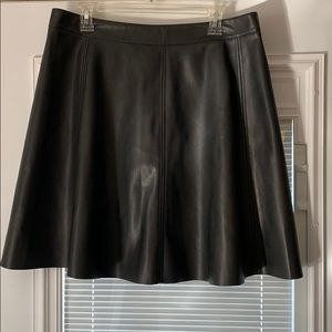 H&M skirt from Germany leather like